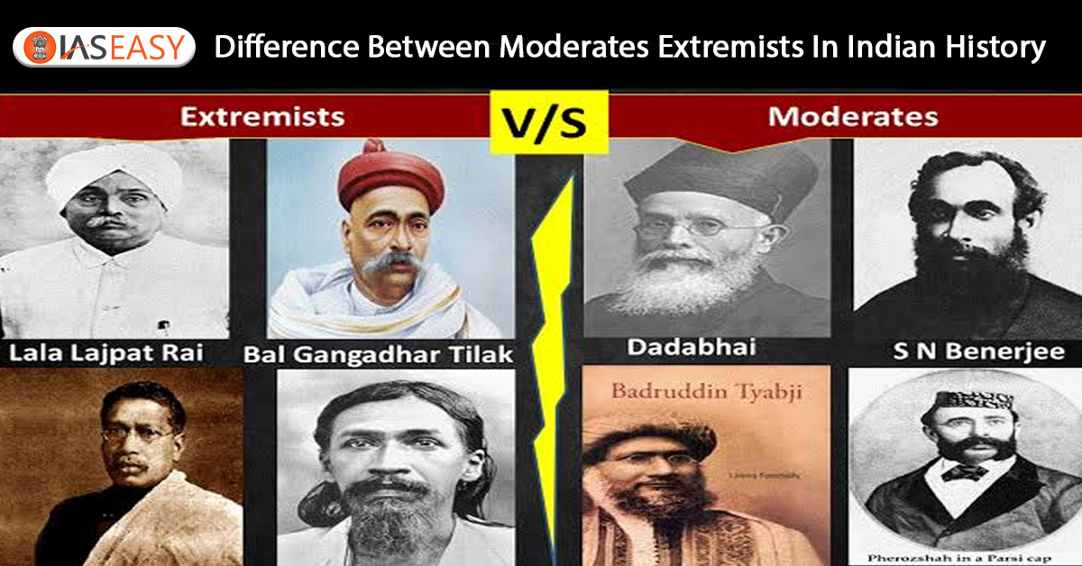 Moderates and Extremists in Indian History