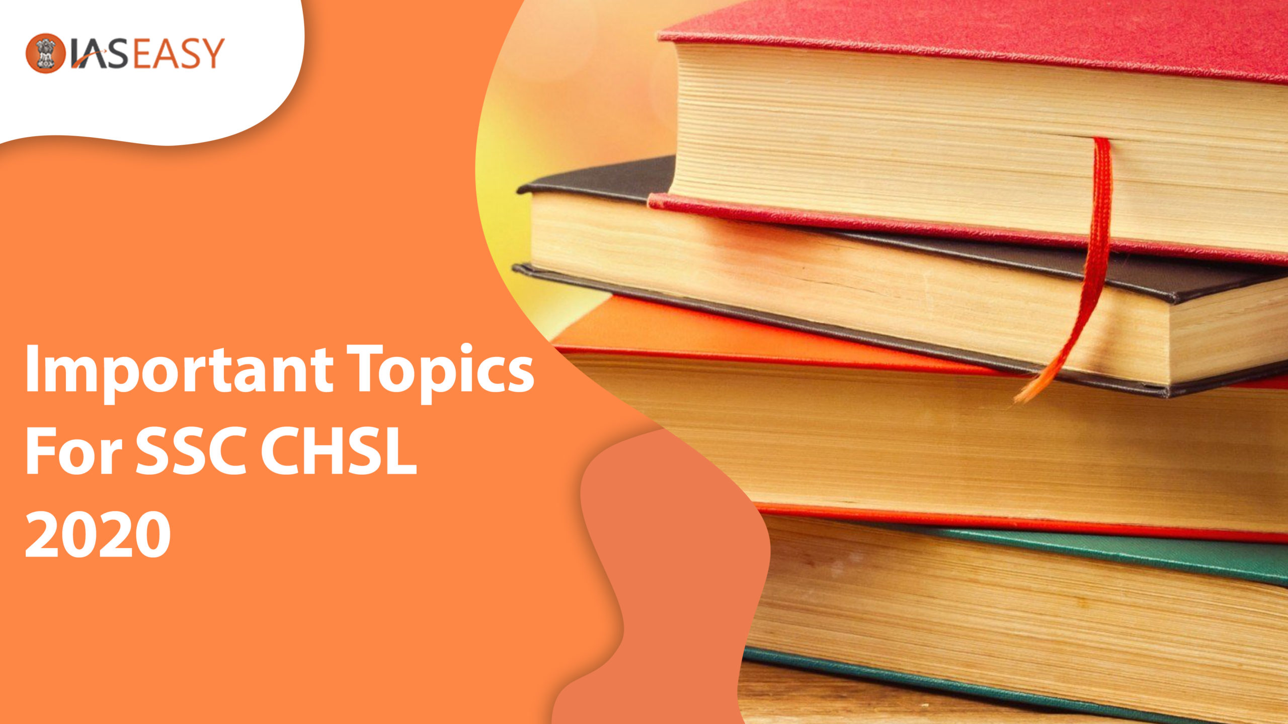 Important Topics for SSC CHSL 2020