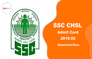 SSC CHSL Tier 1 Admit Card 2020 @ ssc.nic.in - Download